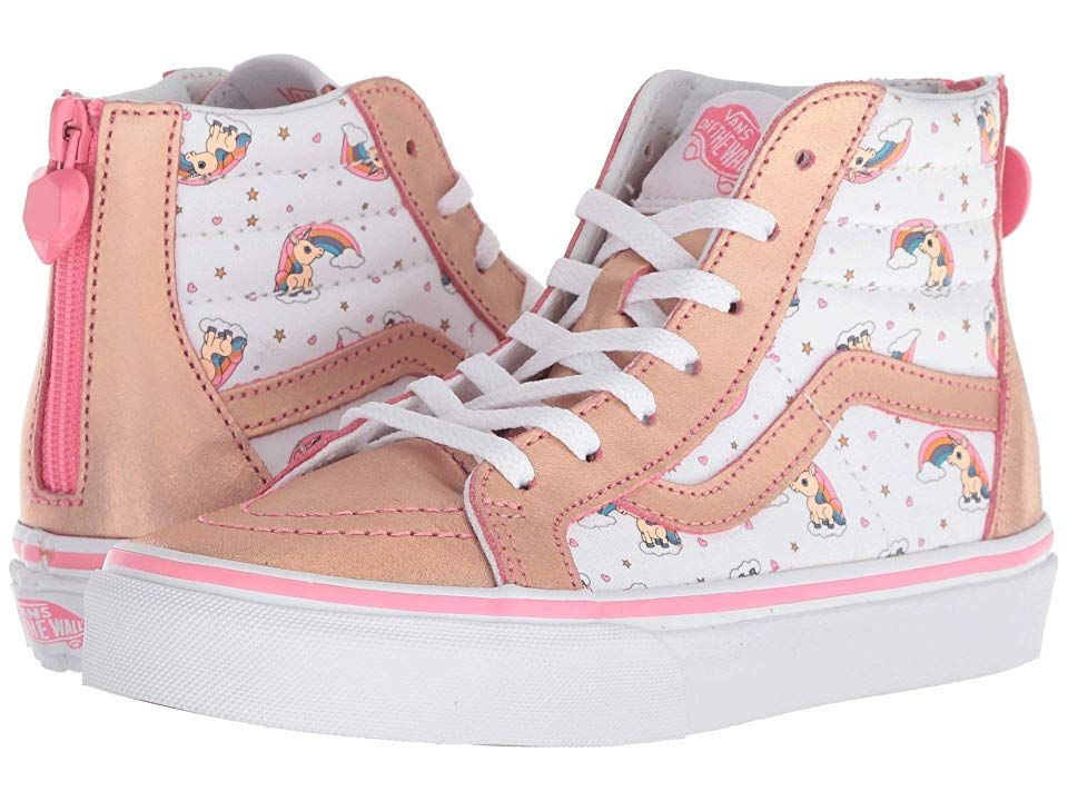 Vans Kids Sk8 Hi Zip (Little KidBig Kid) ((Unicorn Rainbow