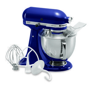 ShopKitchenAid: KitchenAid 5-Quart Tilt-Head Artisan Series Stand Mixer KSM150PSER COBALT BLUE $349.99