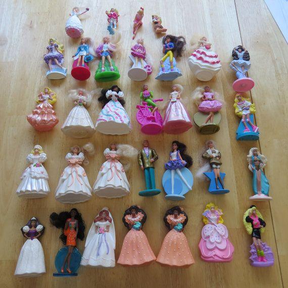 Vintage Barbie Happy Meal Toys / 90s Barbies Happy Meal ...