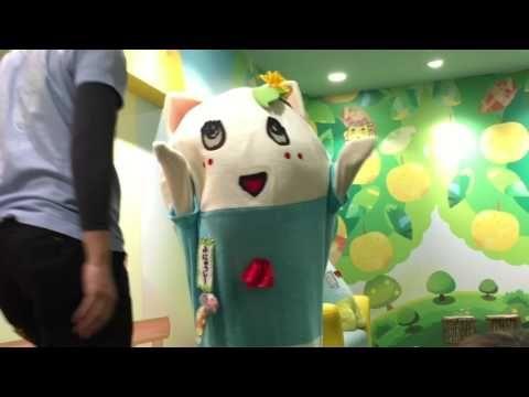 ふにゃっしー ふなっしーランド 船橋本店登場‼︎【白猫 ふにゃっしー】【速報】 - YouTube