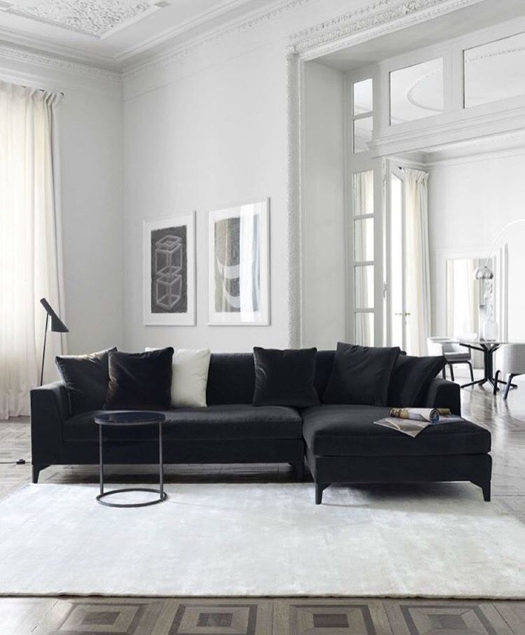 black and white hues livingroom inomhus pinterest living rh pinterest com