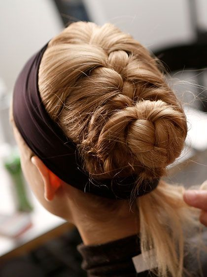 51 New Hair Ideas: banded braid | allure.com