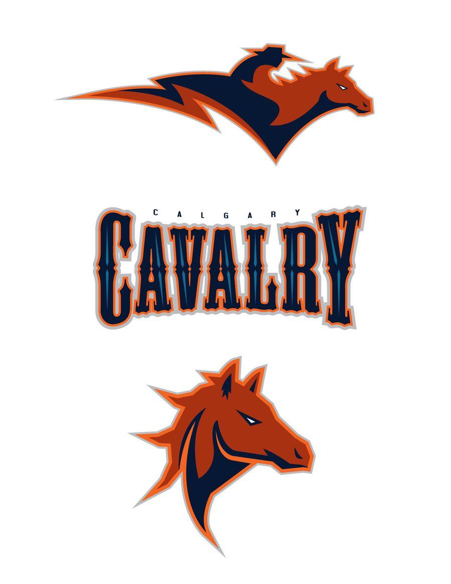 Calgary Cavalry Icehl By Burzum Deviantart Com On Deviantart