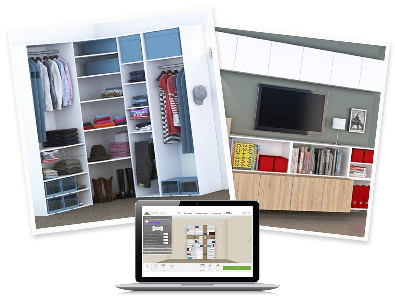 Concevoir mon projet d\'aménagement Spaceo Home | Leroy Merlin | ID ...
