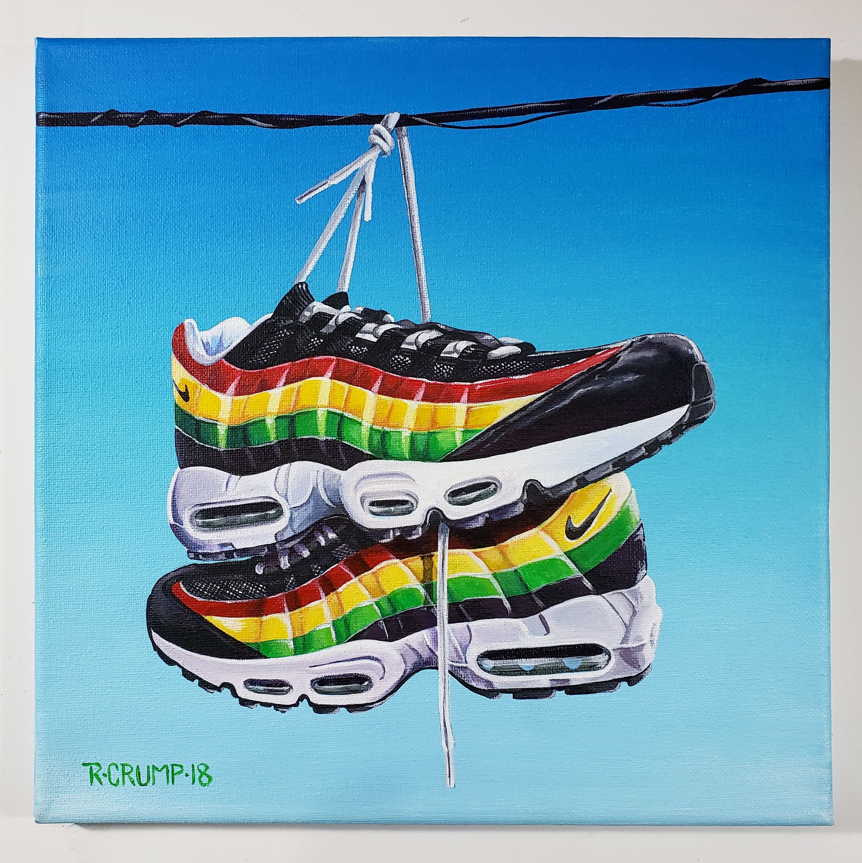Filosófico Guinness Desagradable  Air Max 95 Sneaker Art | Sneaker art, Nike air max 95, Air max 95