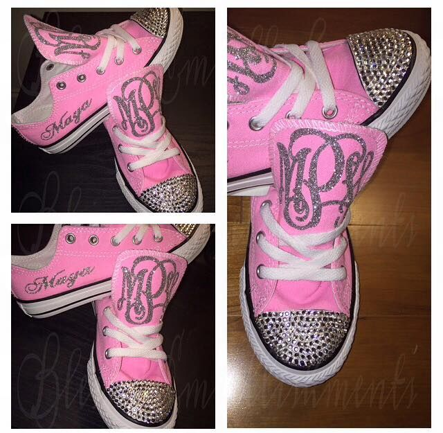 1ce26579f461 Cute idea for blinged out converse