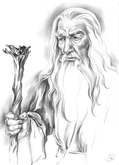 Gandalf The Gray By Callista1981 On Deviantart Wizards
