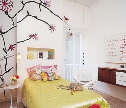 Modelos de dormitorios y cuartos para chicas adolescentes for Decoracion de cuartos para jovenes mujeres