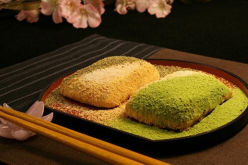 Japanese Dessert - Rice Cake Japanese Mochi (Rice Cake) with