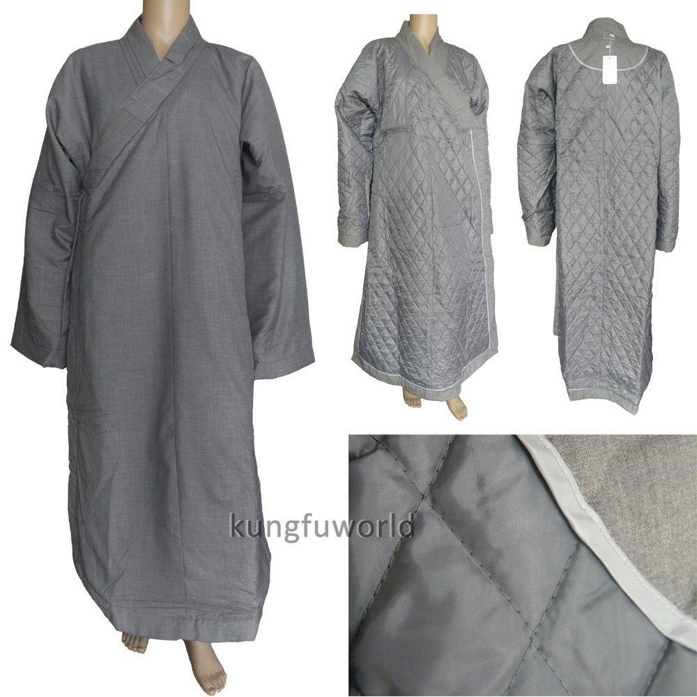 High Quality Cotton Buddhist Monk Meditation Suit Shaolin Kung fu Uniform