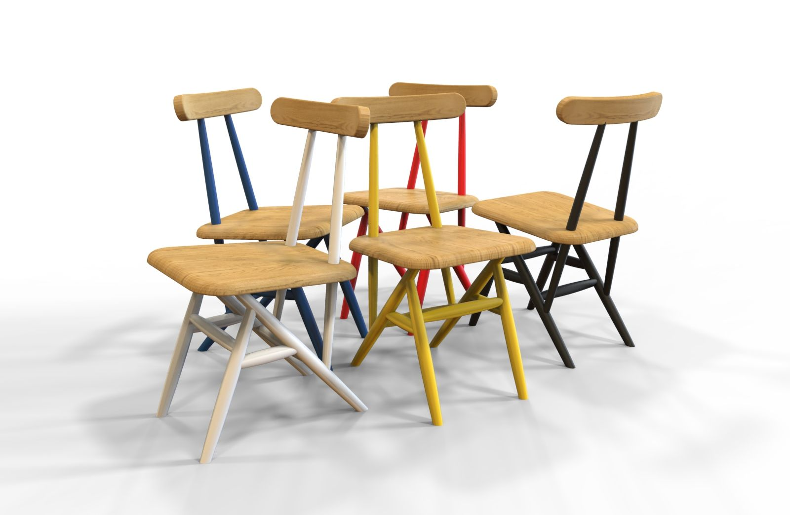 Surprising Many Color Variations In This Scandinavian Modern Design Pdpeps Interior Chair Design Pdpepsorg