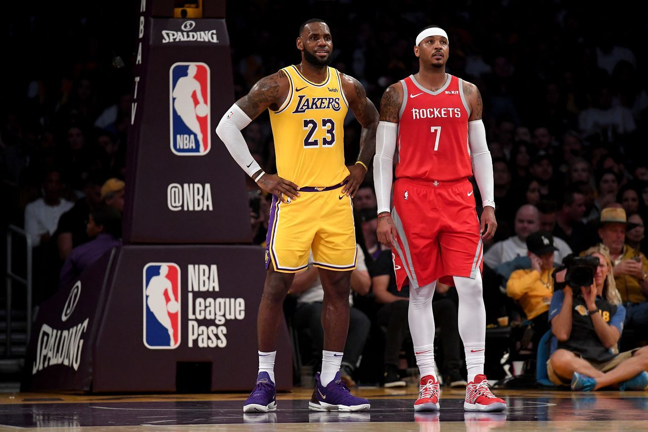 Should The Lakers Trade For Carmelo Anthony All Sports Games And