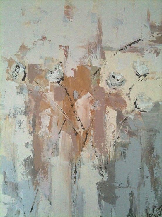 Quot Leah S Flowers Quot Custom Painting By Deann Hebert I