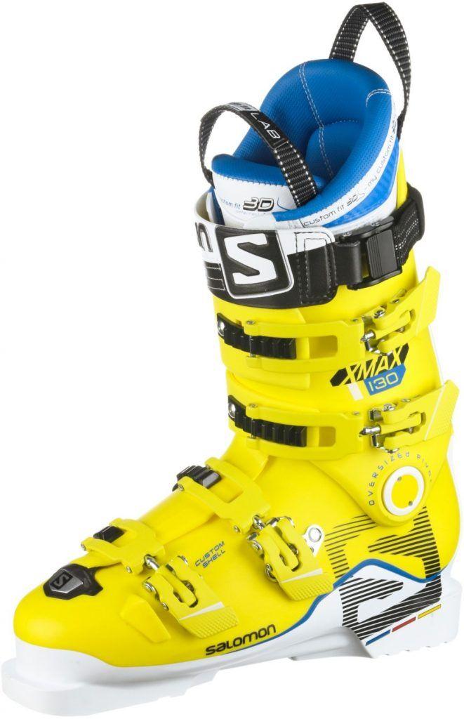 #Salomon #X #Max #120 #Skischuhe #Herren #weiß/gelb