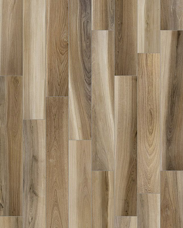 6 Quot X 36 Quot Amaya Natural Wood Plank Porcelain Tile High