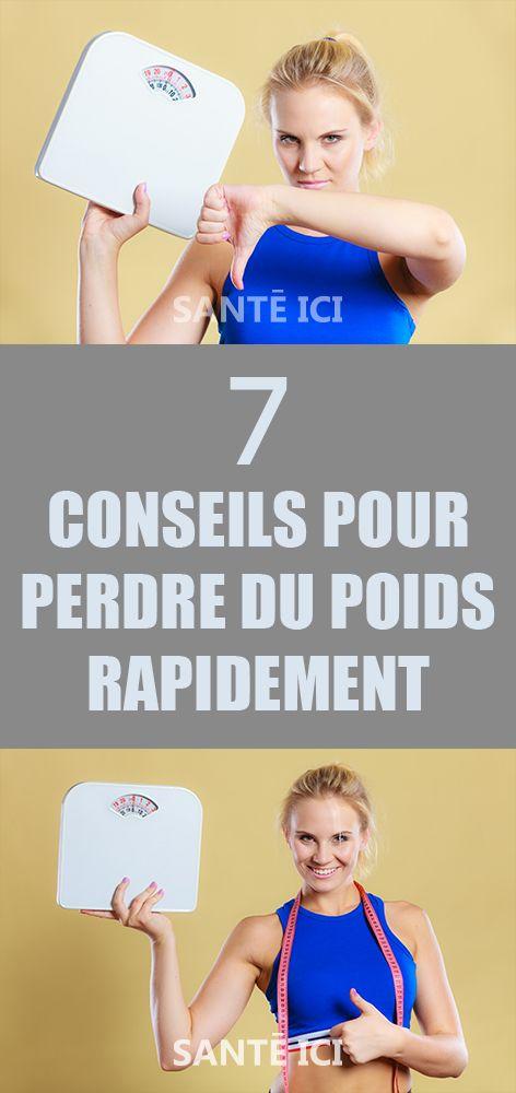 7 conseils pour perdre du poids