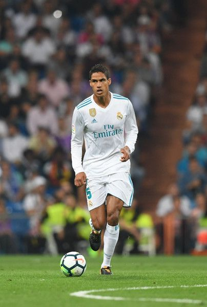 abfff001821 Real Madrid s defender from France Raphael Varane controls the ball during  the Spanish league football match Real Madrid CF against Real Betis at the  ...