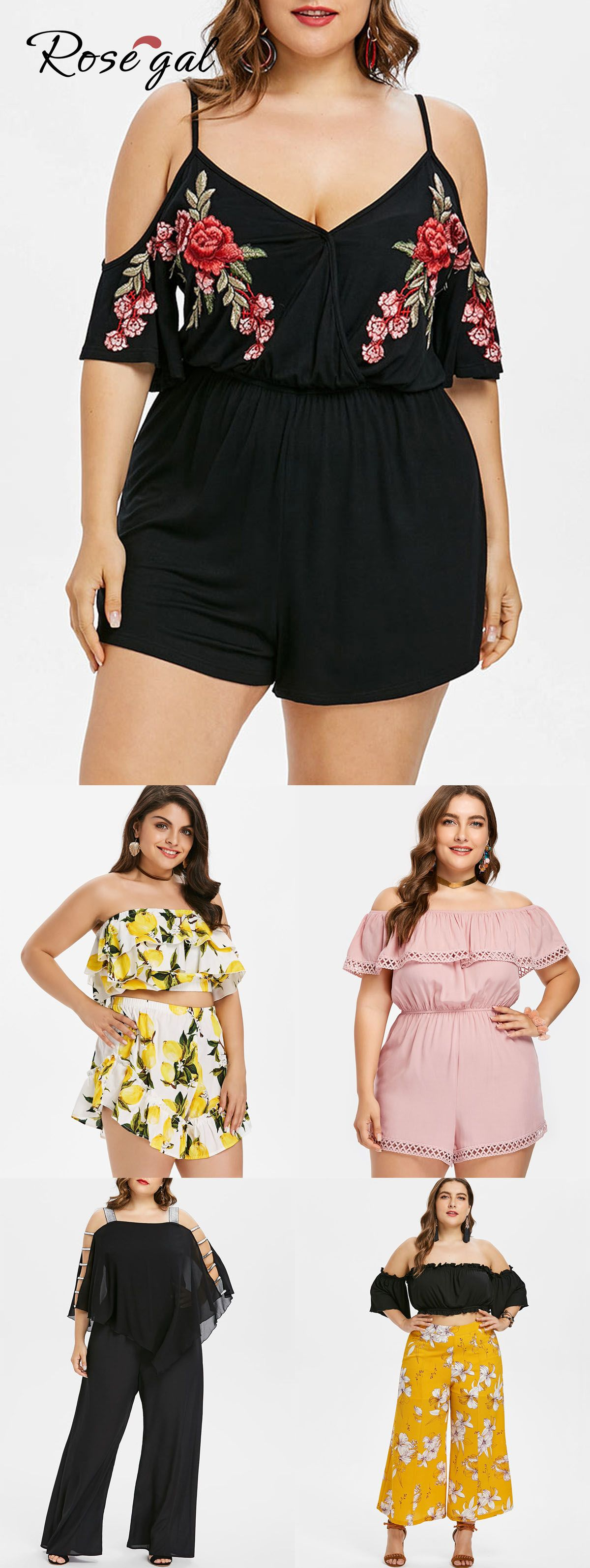 Photo of Free shipment worldwide, up to 70% off, ROSEGAL plus size rompers and jumpsuits …