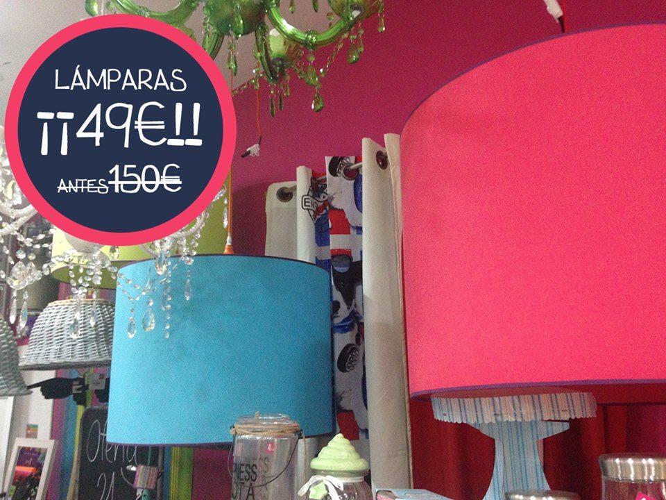 Mira que #lámparas y mira que #rebajas!!!! ¿Te lo vas a perder?