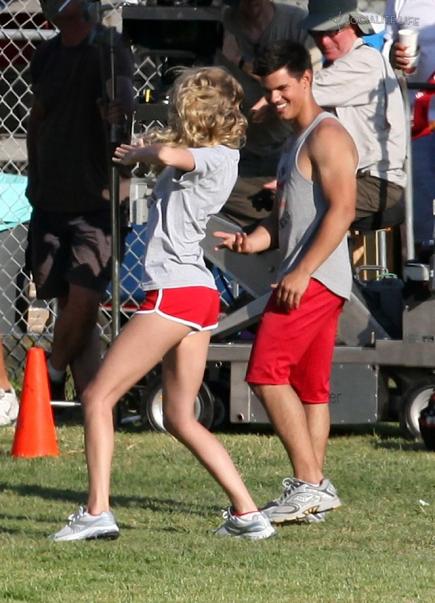 Taylor Lautner And Taylor Swift Movie
