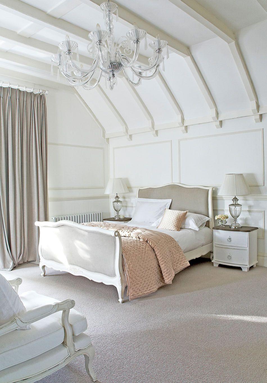 decorar tu casa al estilo shabby chic dormitorio sweetpea | Hogar ...
