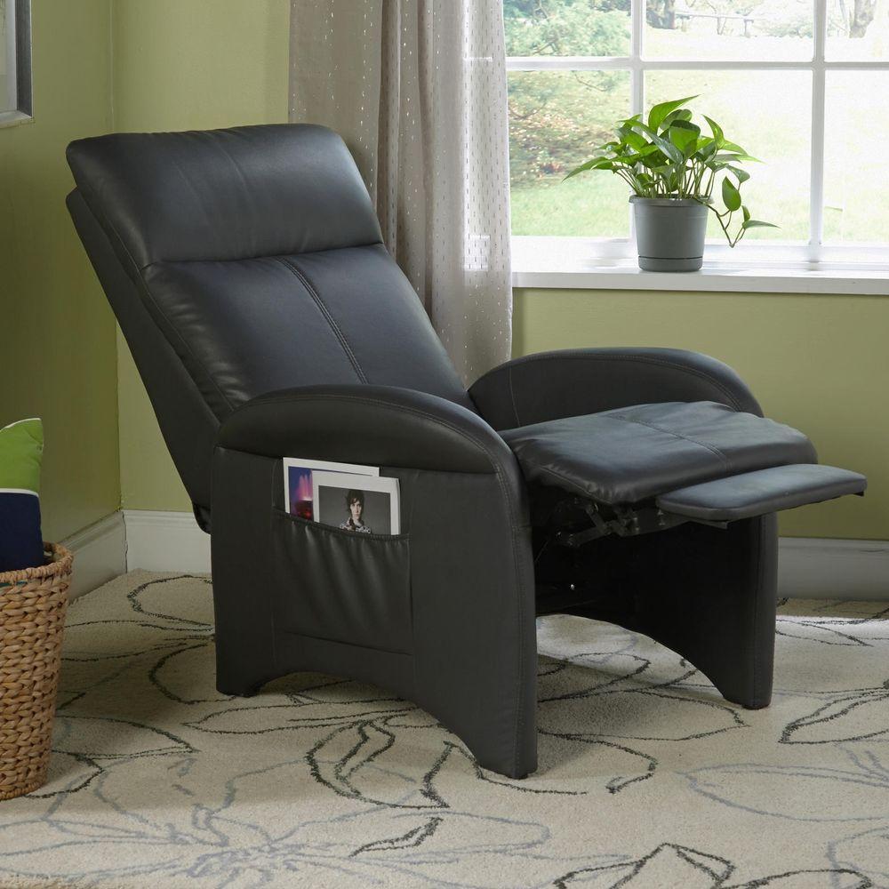 Rocker Recliner Chair Ottoman Nursery Modern Gaming Living Room Chaise  Furniture