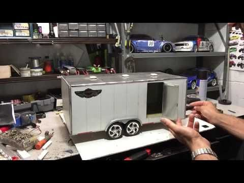 Rc Custom Cargo Trailer Review With Teofil K