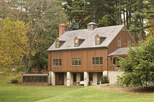 photos of barn houses | Terry Leland purchased this 20th ...
