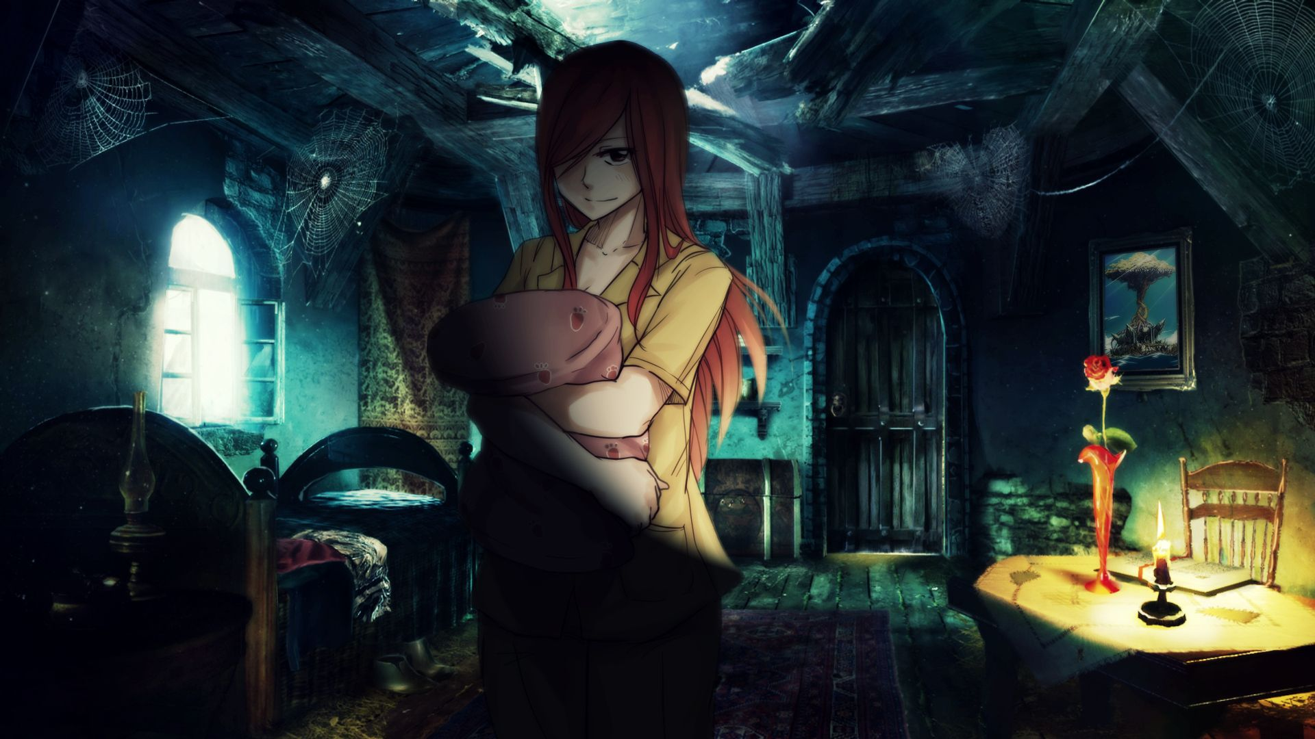 Erza Scarlet Fairy Tail Sad Anime Pinterest Anime