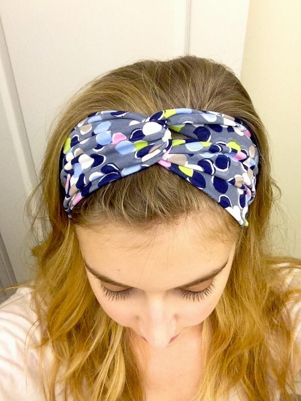 Diy turban headband diy headband tutorial super easy