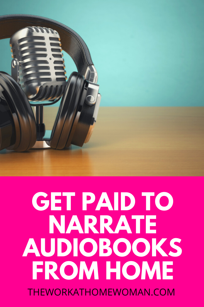 Make Money Narrating Audiobooks From Home