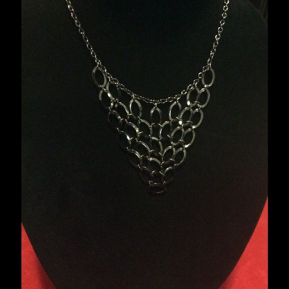 New...Fabulous charcoal gray layered necklace Fabulous charcoal gray layered necklace Icing Jewelry Necklaces