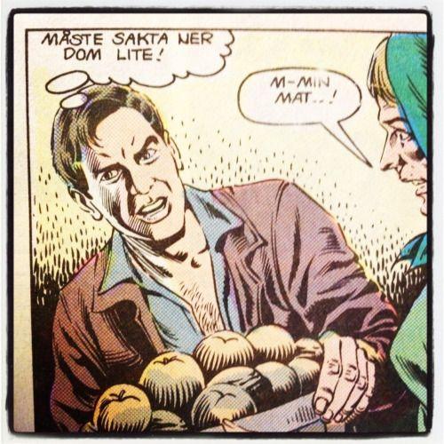 Indy tycker äpplena går för fort. – Indiana Jones, ur Månadens äventyr #2 1986