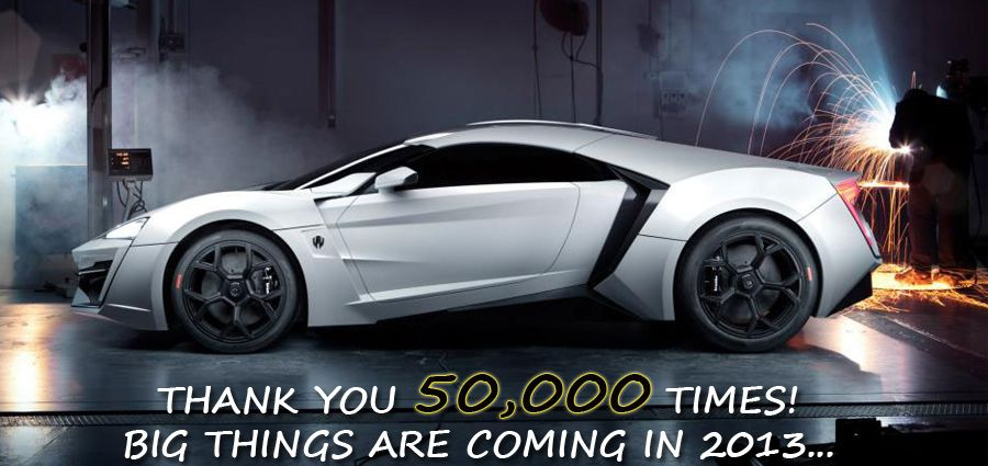 Besides 50,000 Facebook fans, what would you like to see