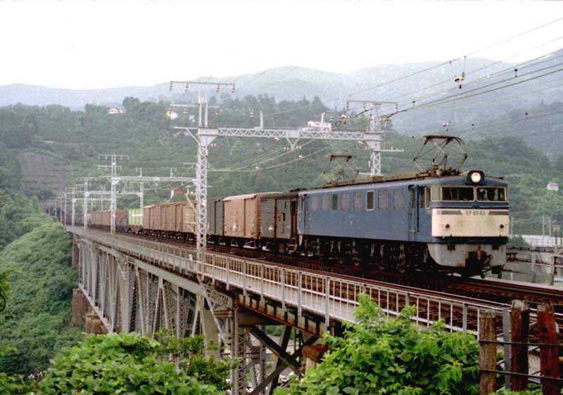 昭和50年代の鉄道写真 ぶんたの鉄道写真小屋 東海道・山陽線の貨物列車