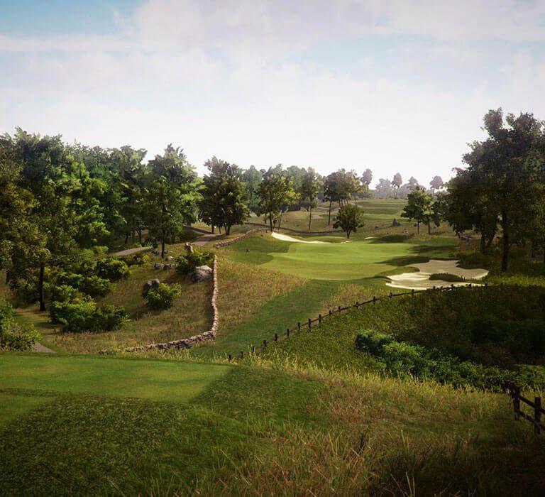 TrackMan Simulator Course Shelter Harbor Golf Course