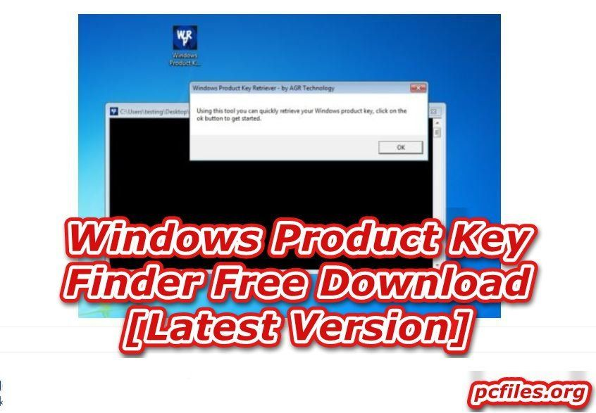 Windows Product Key Finder Free Download 1.0 [Latest