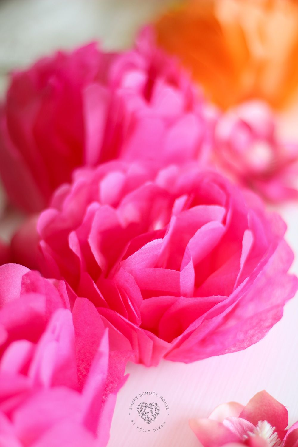 Beautiful Handmade Tissue Paper Flowers Tissue Paper Flowers