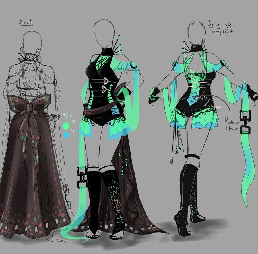 Outfit design 151 closed by LotusLumino on DeviantArt