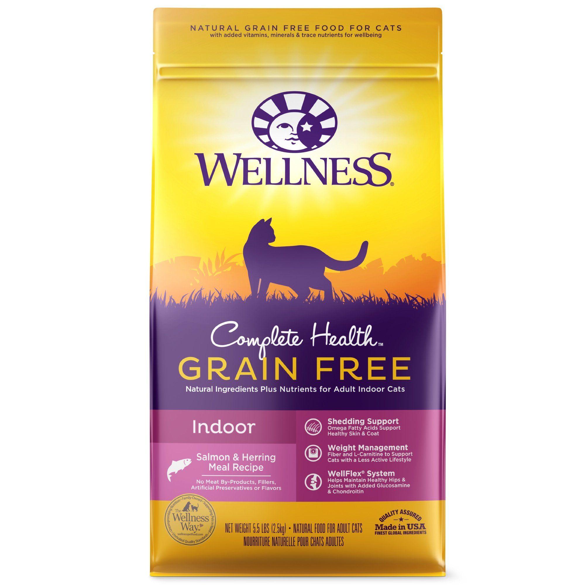 Wellness Complete Health Grain Free Indoor Salmon