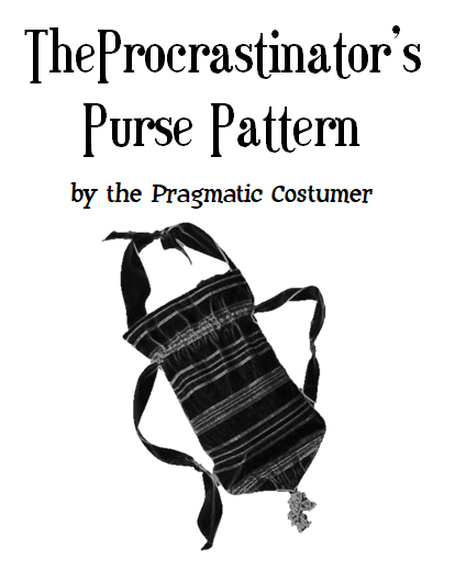 graphic regarding Dice Bag Printable Pattern named The Procrastinators Purse: A Cost-free Printable Reticule