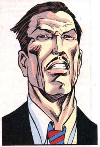 Bolivar Trask Human High Council Marvel Comic Character Comics X Men