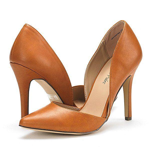 Dream Pairs Womens Oppointed Dress Pump Stiletto Heel