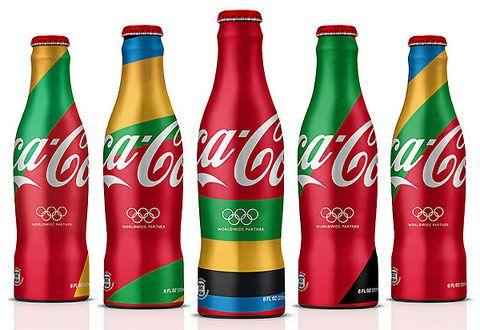 Artist Matt W. Moore with agency Attik on the Coca-Cola branding for the 2012 London Olympics