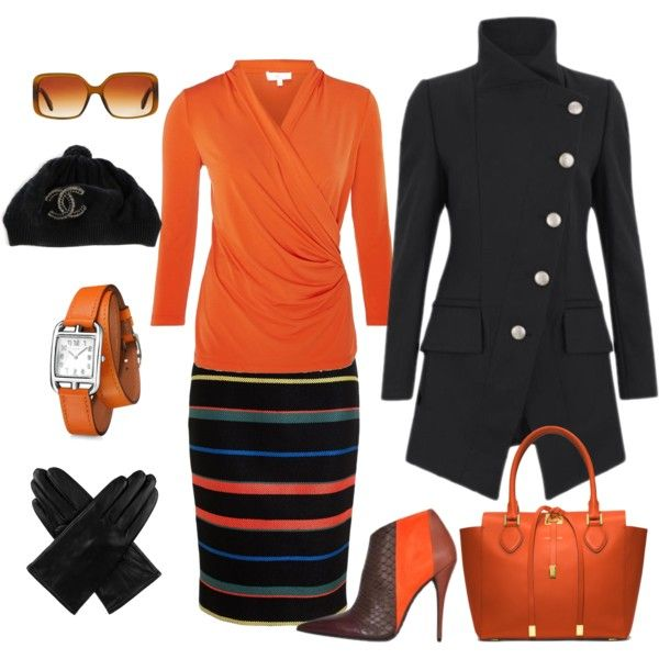 """""""skirt outfit"""" by melina-kast on Polyvore"""
