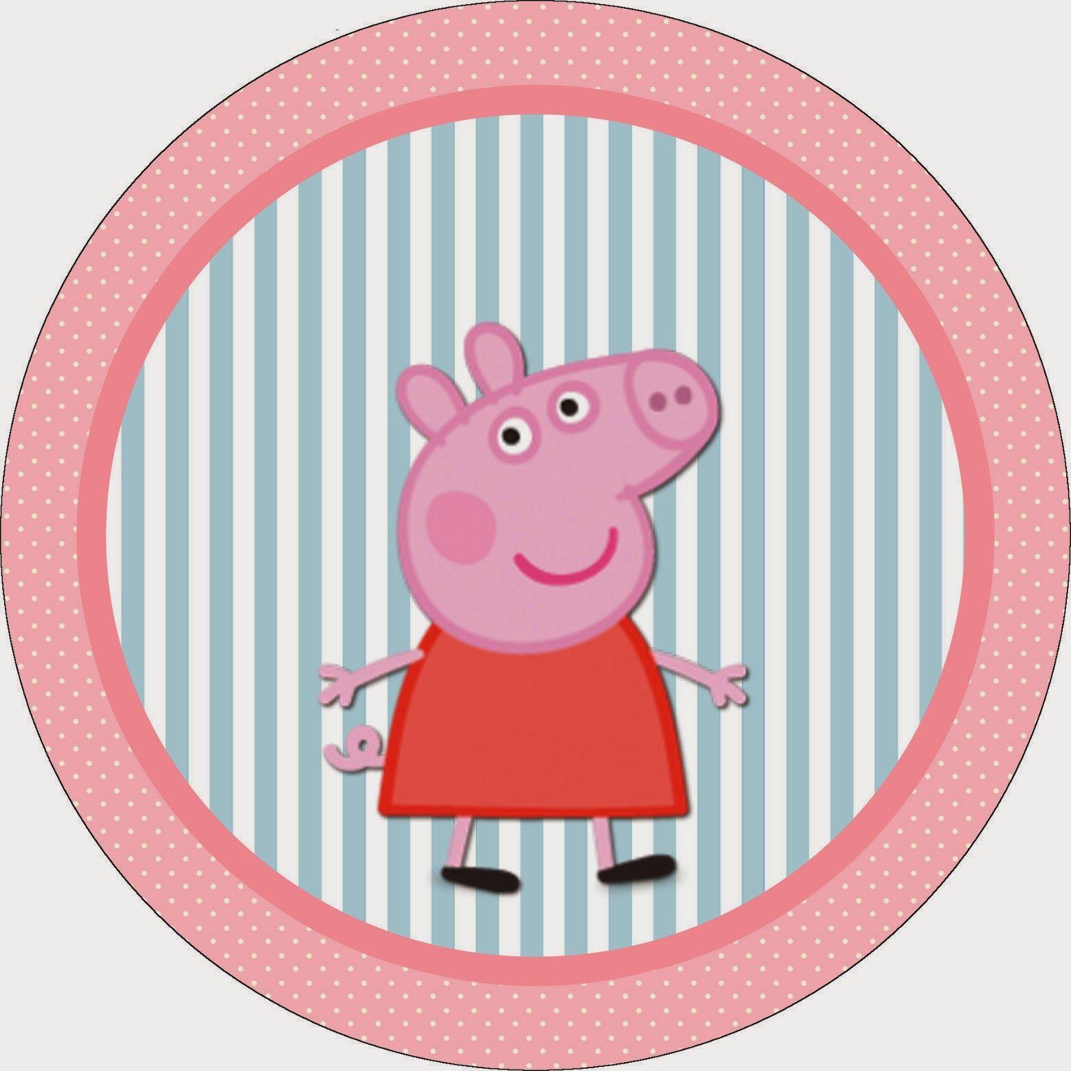 Fine Peppa Pig Party Invitations Template Composition - Invitations ...