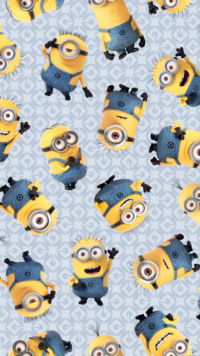 Minion Wallpaper Papel De Parede Minions Amor Minions