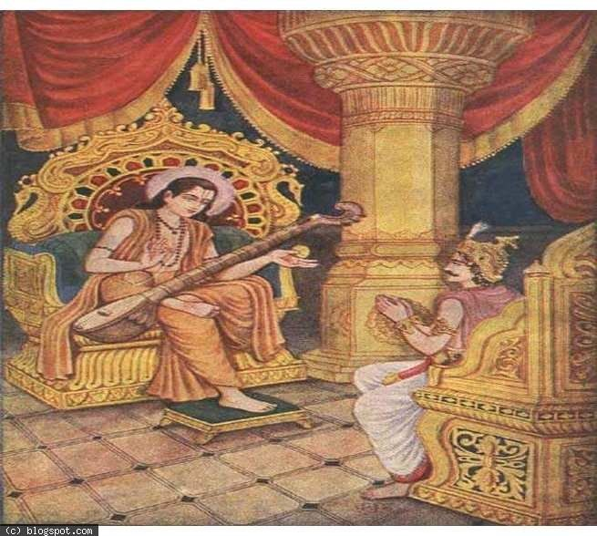 Narada explained to Yudhisthira that Duryodhana never showed cowardice, he had been a just and good king, he died a brave's death that too in the holy place. Samantpanchaka. He gained entry to the heavens for these reasons.