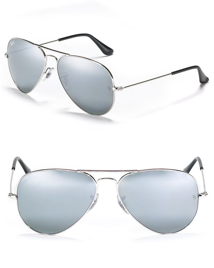 ace6502b7dc07 Bloomingdale s Friends   Family Sale – OFF with promo code  FRIENDS. Ray-Ban  Aviator Sunglasses with Mirrored Lenses