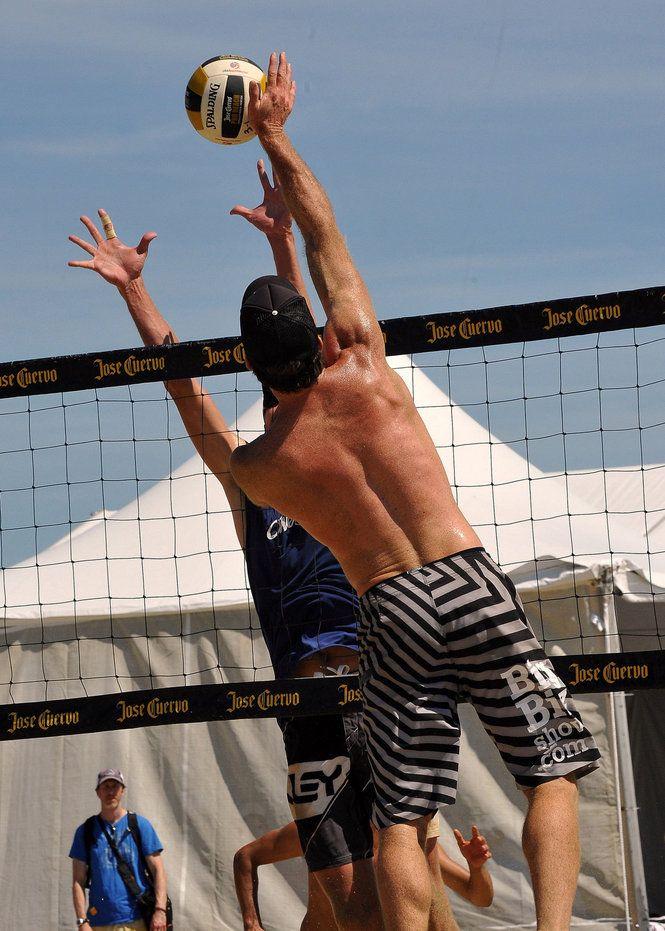 Beach Volleyball In Belmar Beach Volleyball Volleyball Belmar